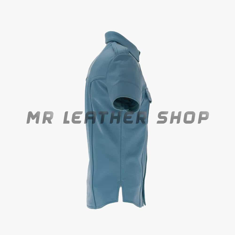 Leather Uniform Shirt