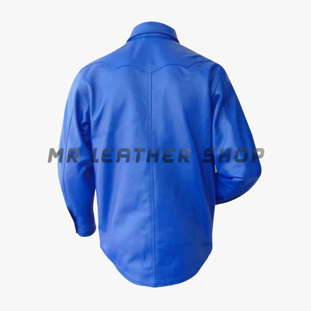 Mens Leather Shirts for Sale