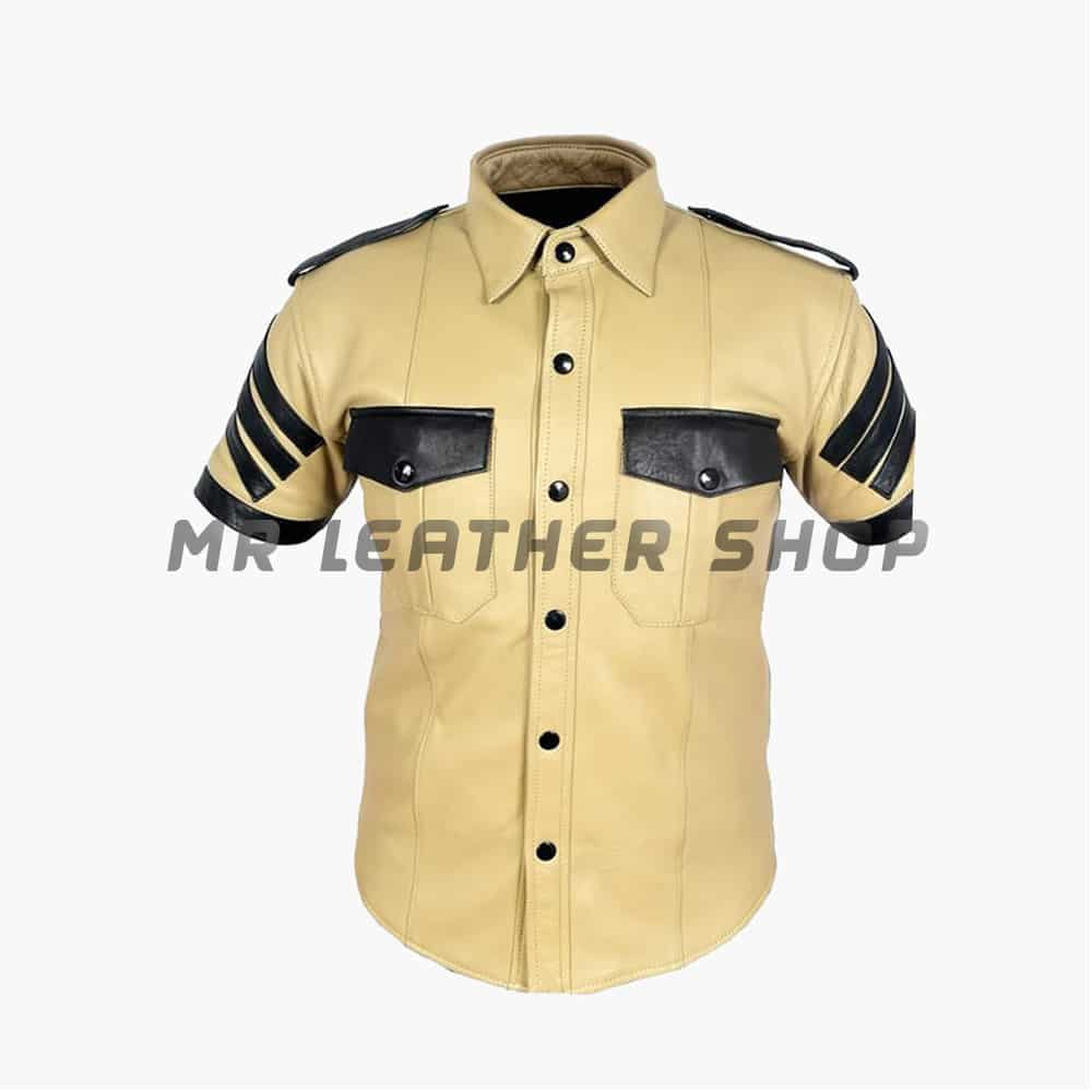 Leather Uniform Shirts
