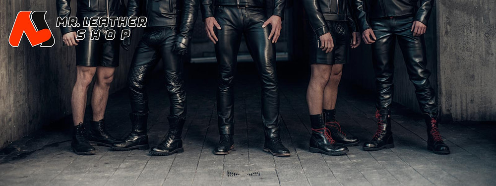 Mr. Leather Shop Custom Leather Pants Custom-Made Mens Leather Clothing