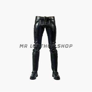 Black Tight Leather Pants