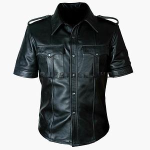 Cheap Leather Shirt