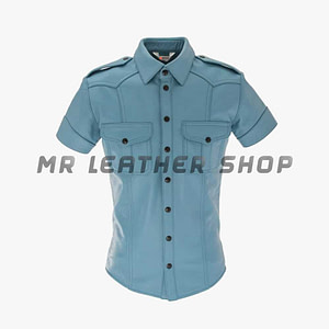 Leather Uniform Shirt