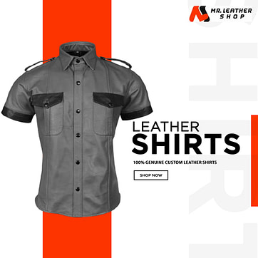 custom Leather shirts